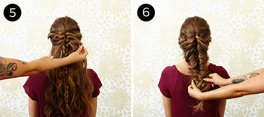 Hairstyles For Long Hair In Food Service