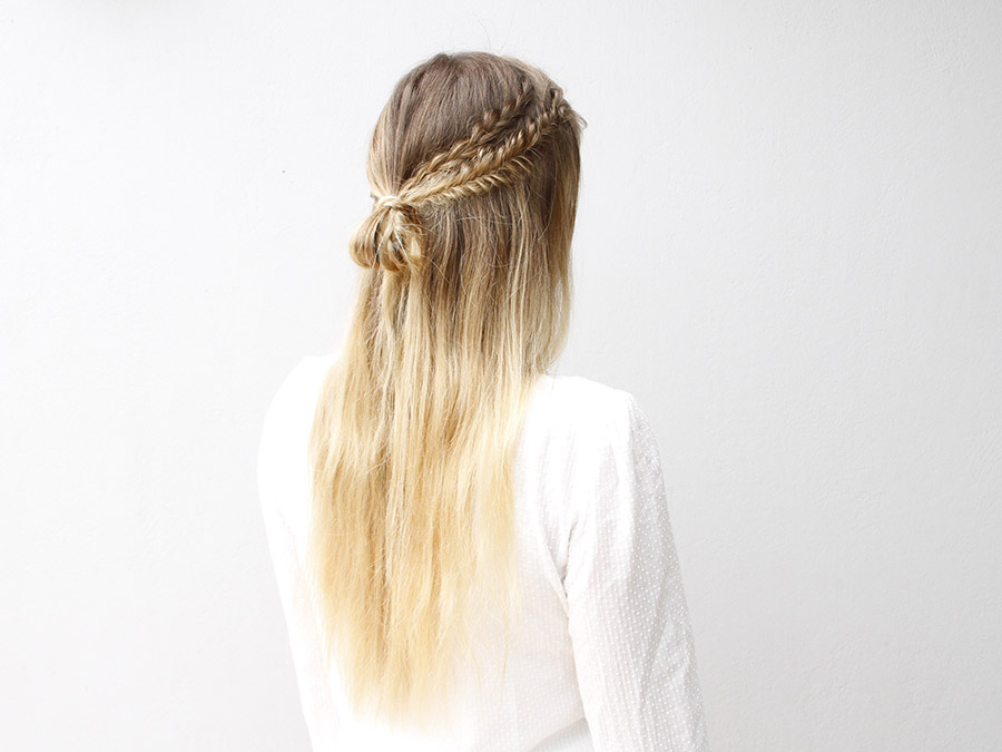 Super These Half Up Boho Braids Are The Definition Of Simple Chic More Com Short Hairstyles For Black Women Fulllsitofus
