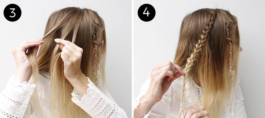 Admirable These Half Up Boho Braids Are The Definition Of Simple Chic More Com Short Hairstyles For Black Women Fulllsitofus