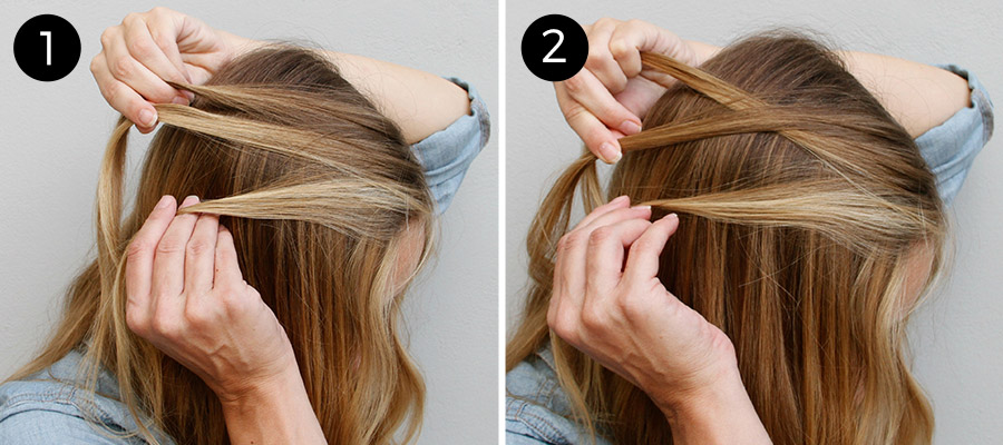 Feather Waterfall Braid Bo Hairstyle