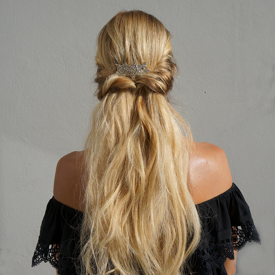 Wedding Hairstyles Guests Long Hair: 3 Easy Hairstyles For Wedding Guests