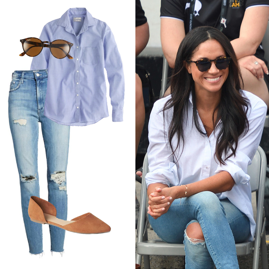 Get The Look: 4 Meghan Markle Outfits Fit For A Princess ...