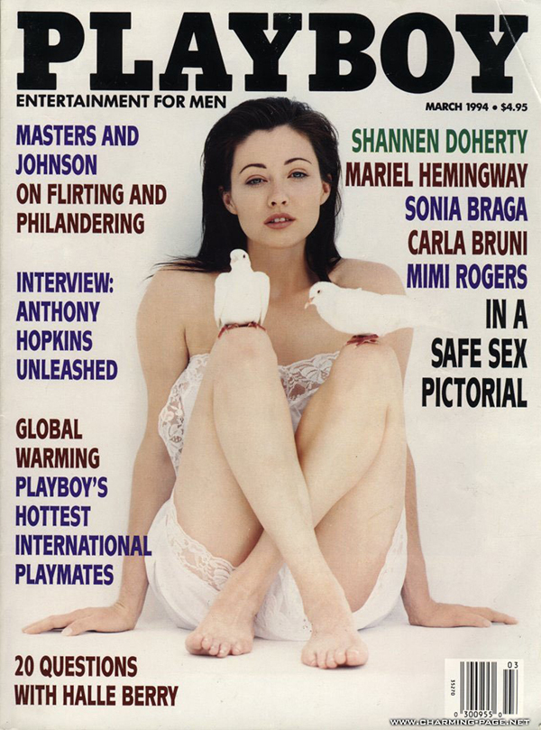 Shannen Doherty Playboy Cover