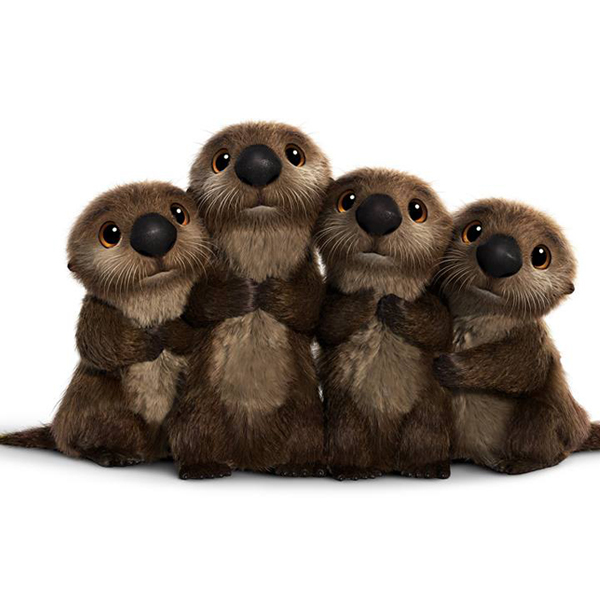 Disney-Pixar Finding Dory Otters