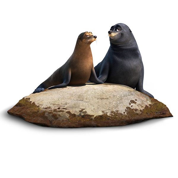 Disney-Pixar Finding Dory Rudder and Fluke