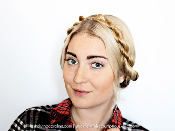 Twisted Milkmaid Braid