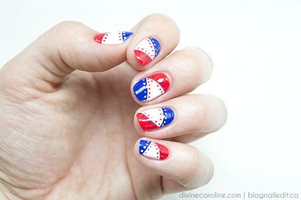 4th of july nails rock this patriotic mani more 4th of july nail art prinsesfo Images