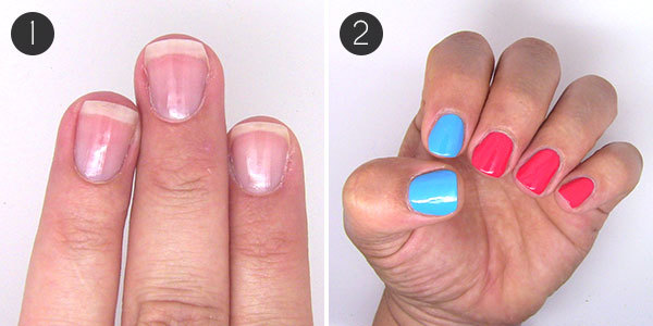 Easy or Advanced 4th of July Nail Art
