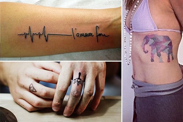 5 eye poppingly gorgeous new tattoo trends for What to use on new tattoos