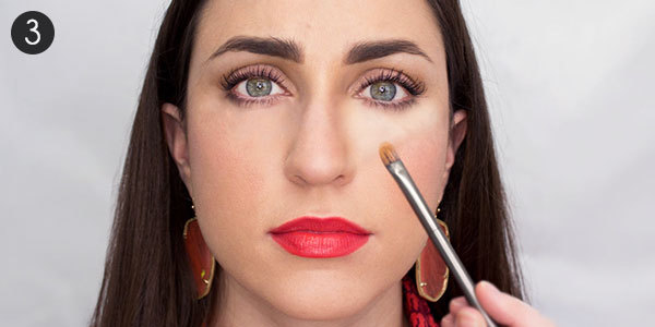 Tricks of Makeup to Cover Dark Circles