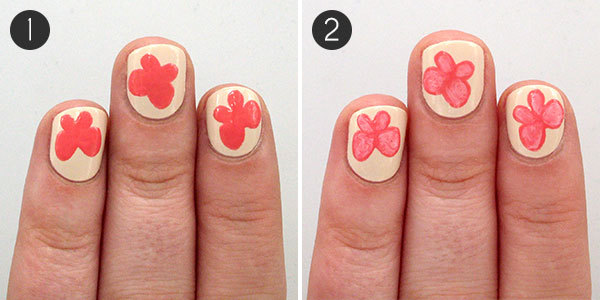 Butterfly Nails: Steps 1-2