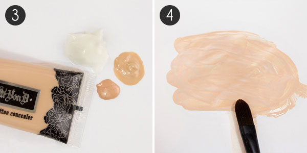 BB Cream Steps 3 and 4