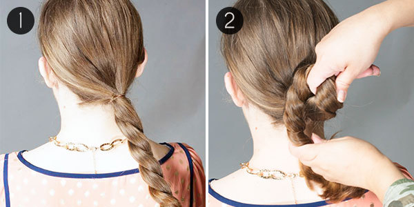 A Classic Low Chignon In 3 Easy Steps More Com