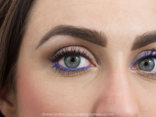 How To Wear Cobalt Blue Eyeliner