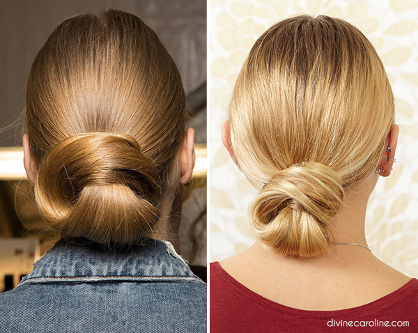 Dennis Basso Inspired Low Bun With A Twist More