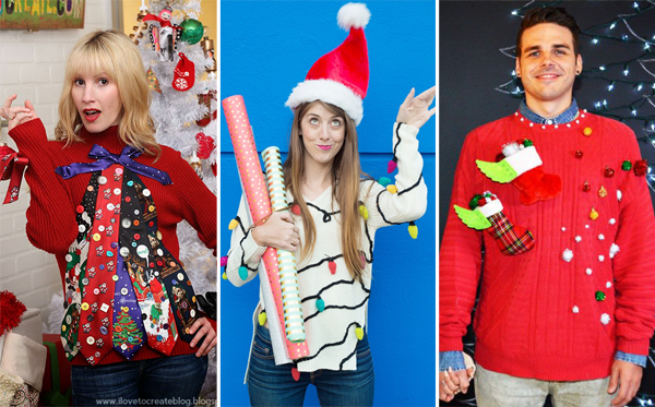 Diy an amazing ugly christmas sweater and celebrate in style more diy ugly christmas sweaters solutioingenieria Gallery