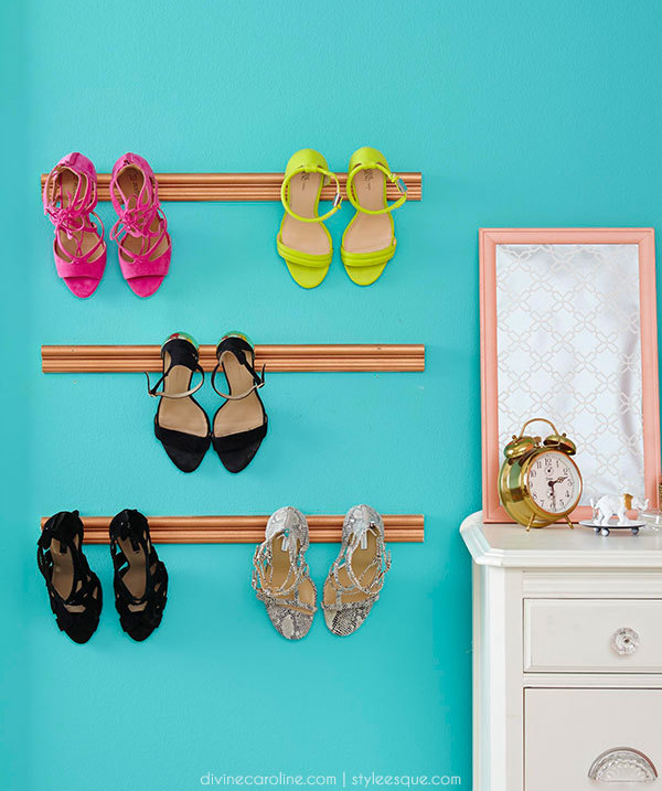 DIY Shoe Holder