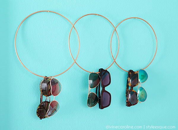 f2c98dced477 DIY Sunglass Holder: Display & Organize Your Sunnies | more.com