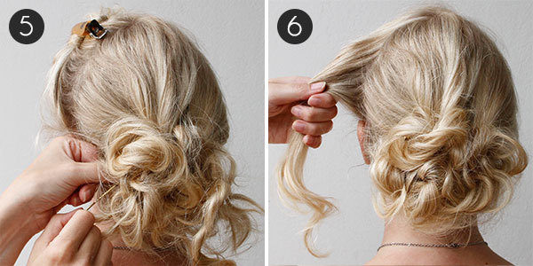 Diy your wedding day hairstyle with this braided updo more diy wedding hair steps 5 6 solutioingenieria Images