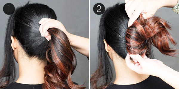 Easy Breezy Beautiful Give This Messy Chignon A Try More Com
