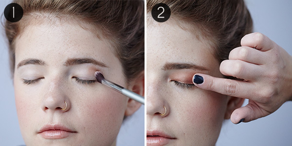Easy Eye Makeup for Blue Eyes