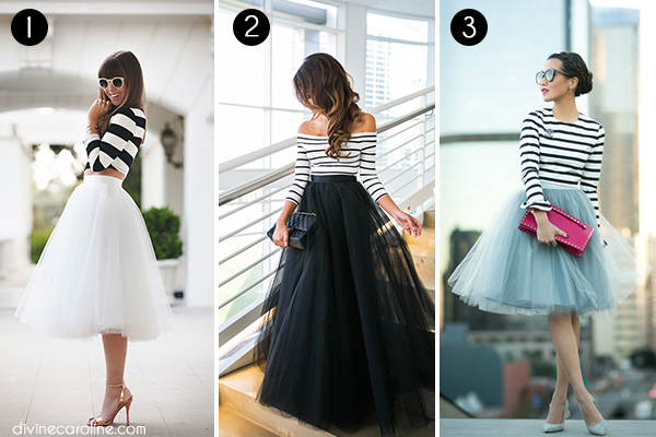 Tulle Skirts Collage 1