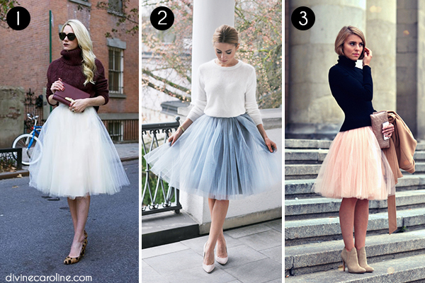 0ffac427354 En Pointe  How to Style a Tulle Skirt
