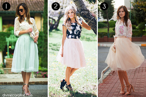 Tulle Skirts Collage 4