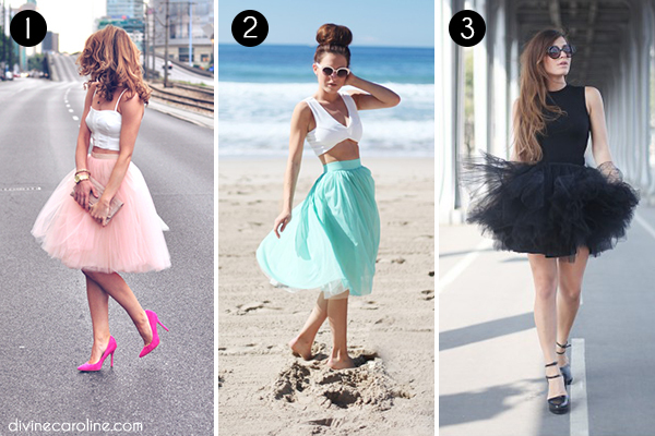 Tulle Skirts Collage 6