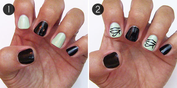 Eye-Catching Egyptian Nail Art Design Tutorial | more.com