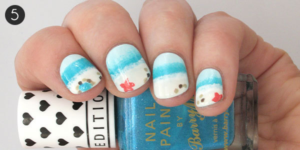 Fun In The Sun Beach Nails How To More