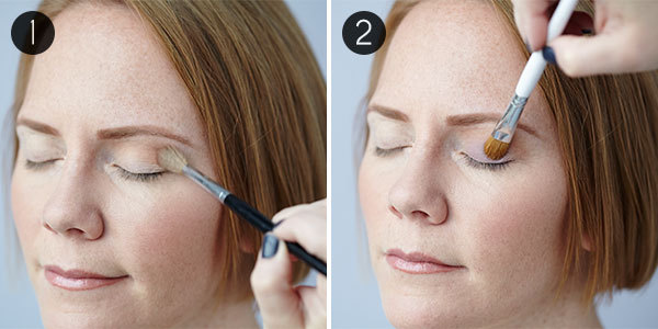 Eye Makeup for Green Eyes: Steps 1 & 2