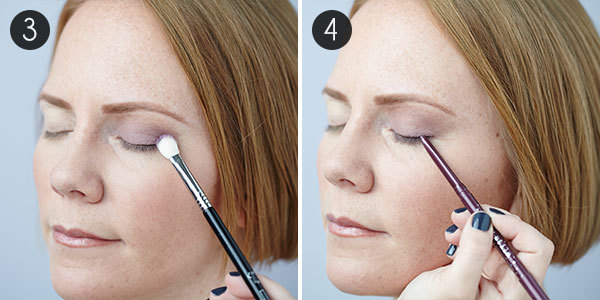 Eye Makeup for Green Eyes: Steps 3 & 4