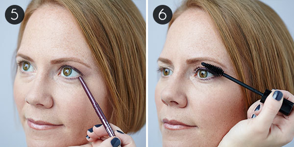 Eye Makeup for Green Eyes: Steps 5 & 6