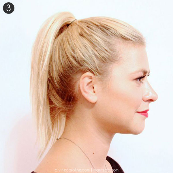 Hair How To A High Ponytail That Wont Fall More
