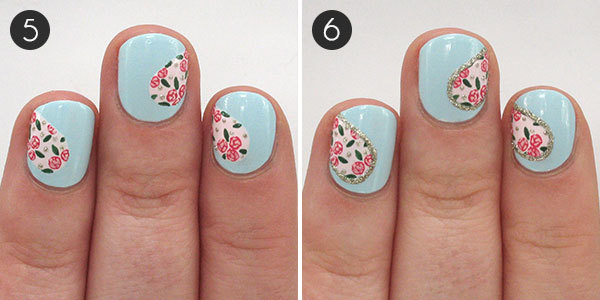 Heart Nails: Steps 5-6