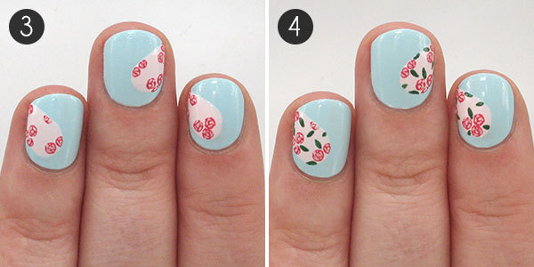 Heart Nails: Steps 3-4