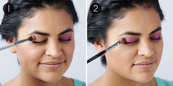 Smokey Eye with Bright Color