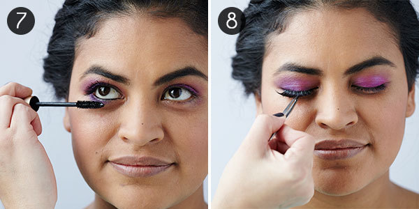 How to Do a Smokey Eye with Bright Color