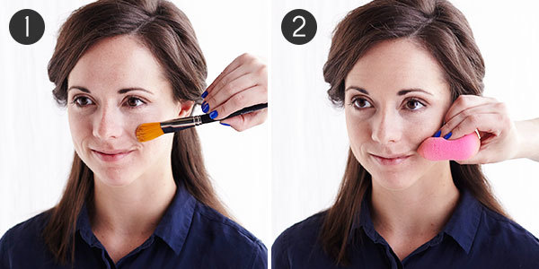 Makeup for Minimizing Scars: Steps 1-2