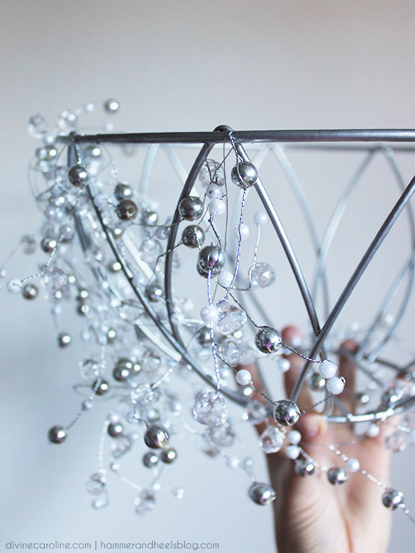 How To Make A DIY Chandelier In An Hour Morecom - Chandelier crystals michaels