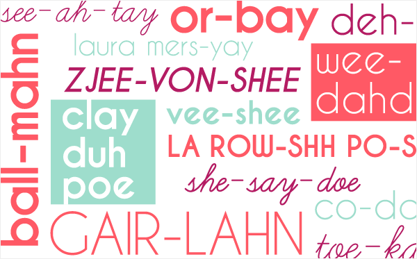 How to Pronounce The Most Baffling Beauty Brands