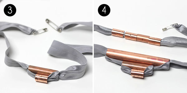 Copper Tubing Necklace: Steps 3-4