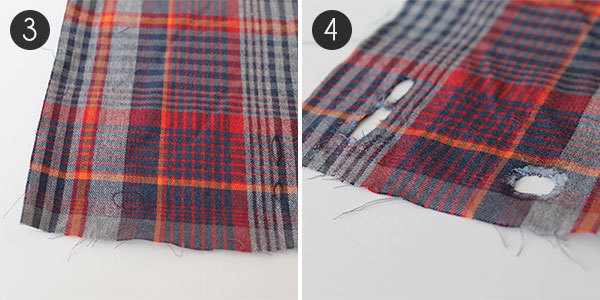 Plaid iPhone Case: Steps 3 and 4