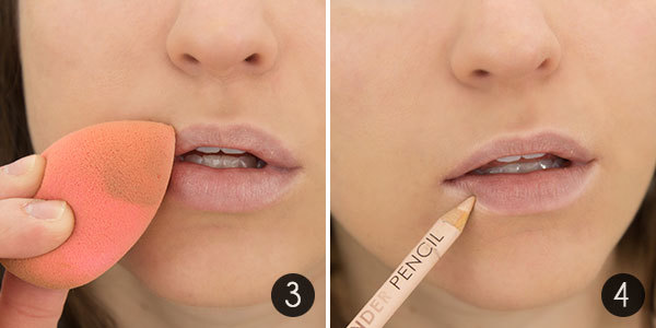 How-To Make Your Lipstick Last Steps 3-4