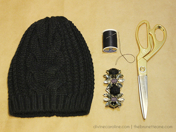 Make Your Own Embellished Beanie