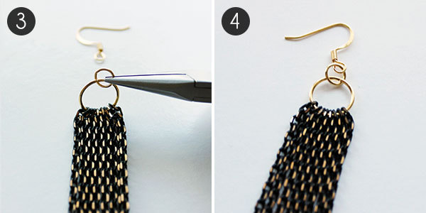 DIY Earrings: Step 3-4