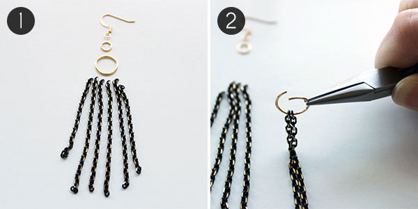 DIY Earrings: Step 1-2