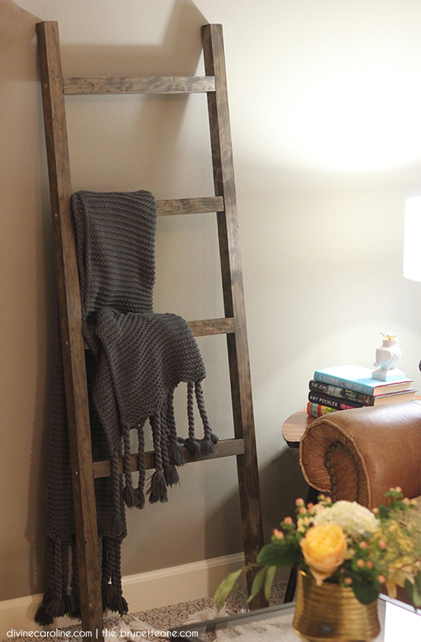7be9952732 The DIY Blanket Ladder Even a Tool Newbie Can Make