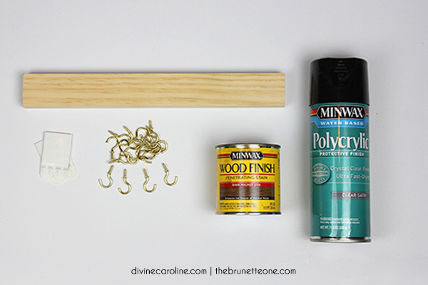 Make Your Own WallMounted Jewelry Holder morecom